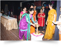 Welcome speech as a (co-operate) executive member of alumnae association of PVP-SNDT ON 21-01-2012. As a Chief Guest on Annual day celebration of PVP (SNDT) at patkar hall on 9th Feb 2012.
