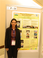 AT POSTER SESSION AT 19TH APOC-SOUTH KOREA