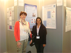 AT POSTER SESSION- OPTOMETRIST FROM SPAIN