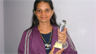 AWARD TROPHY FROM BAJAJ ALLINAZ LIFE INSURANCE COMPANY