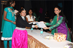 DISTRIBUTING CERTIFICATE TO STUDENTS