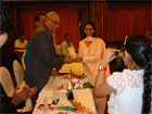 RECEIVING AWARD FOR LOW VISION-EYE CARE PROJECT FOR THE YEAR 2011
