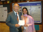 WITH PROF GEORGE WOO AT IAPB-2012