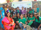 WITH SNDT STUDENTS AT WOD CELEBRATION-PUNE